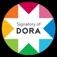 Cirad assina a Declaração de São Francisco sobre a avaliação da pesquisa (DORA). Logo da iniciativa DORA